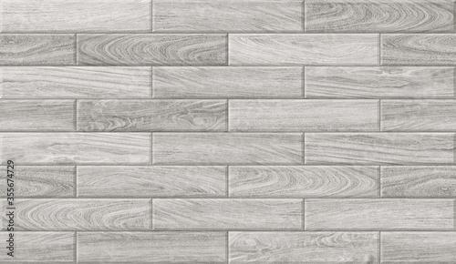 Emboss Grey Wooden Texture Design For Wall, Floor Tiles With Interior & Exterior Decorative Wallpaper Slika na platnu
