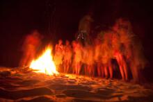 Bushman Singing And Dancing