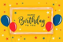Happy Birthday Celebration Bac...