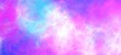 canvas print picture - universe Sky and galaxy abstract colorful background