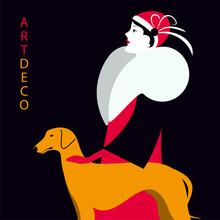 Vector Illustration In Art Dec...