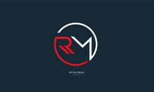 Alphabet Letters Icon Logo RM