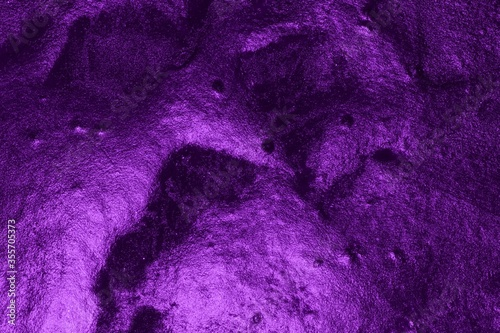 Fototapeta purple grunge glossy relief venetian plaster texture - fantastic abstract photo background obraz