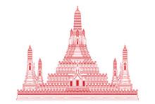 Wat Arun Temple Is Landmark Of...