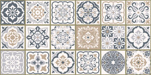 Collection Of 18 Ceramic Tiles...