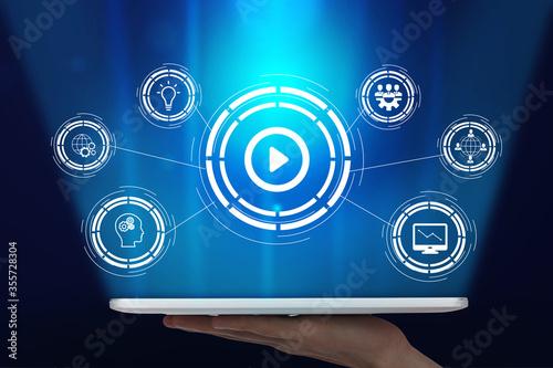 Obraz na plátně Easy to manage technology