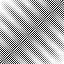 Diagonal Lines Print. Striped ...