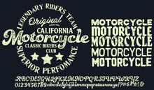 Motorcycle Club Community Logo...