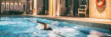 Swimming Pool Of Condo Buildin...