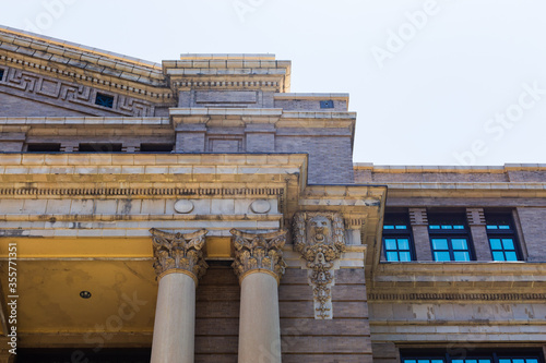 Harris County 1910 Courthouse is built in the Classical Revival Style with Beau Arts influences, It is on the National Register of HIstoric Places Fototapeta