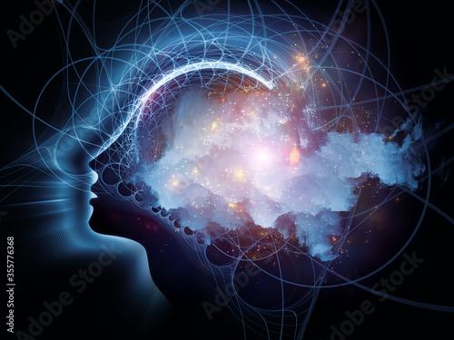 Obraz Charting Consciousness. - fototapety do salonu
