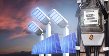 Electricity Meter Solar Cell S...