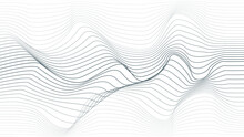 Abstract Flow Lines Background...