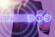 Word Writing Text Stop Bullyin...