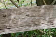 Bark Wooden Board Frame