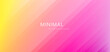 Abstract yellow pink gradient background with stripe lines diagonal.