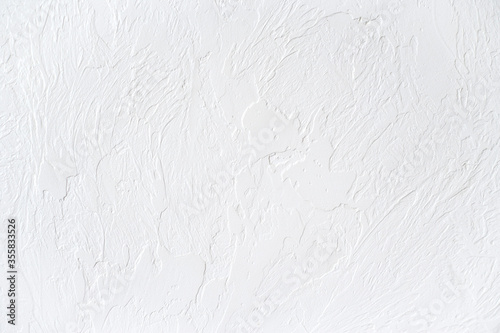 Foto The texture of the white concrete table