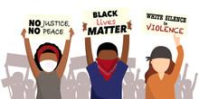 Black Lives Matter. Anti-racis...