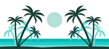 Isola Tropicale, Spiaggia, Pa...