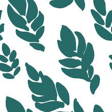 Royal Fern Seamless Pattern Of...