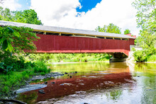 Geiger's Covered Bridge In Lehigh Valley Pennsylvania