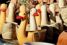 Handcrafted Decorative Duck Sculpture