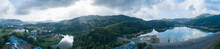 Panorama Landscape Aerial View...