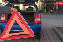 Red Triangle Warning Sign And ...