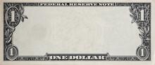 U.S. 1 Dollar Border With Empt...