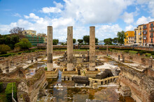 Pozzuoli (Napoli, Italy) - The Macellum Of Pozzuoli (or Serapeum Or Temple Of Serapis) Was The Macellum Or Market Of The Roman Colony Of Puteoli, In Southern Italy