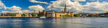 Panoramic View Onto Stockholm ...