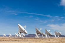 Very Large Array Of Radio Telescopes, Socorro, New Mexico