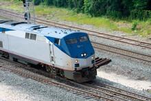 A Train On A Train Track