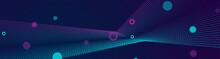 Blue And Purple Futuristic Hi-...