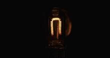 Closeup Of A Halogen Lamp Spir...