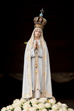 Statue Of Our Lady Of Fatima, Portugal