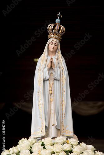 Fototapeta Statue of Our Lady of Fatima, Portugal obraz