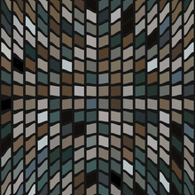 Abstract African Style Colorfu...