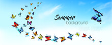 Summer Nature Background With ...