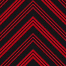Red Chevron Diagonal Stripes S...