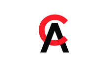 CA Or AC Letter Initial Logo D...