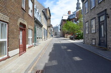 Street Or Road In Quebec City ...