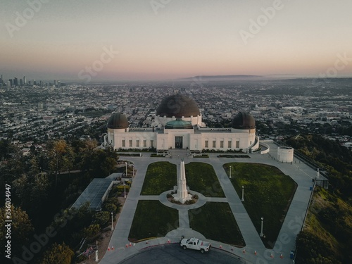 Griffith Park in Los Angeles California At Sunset Fototapet