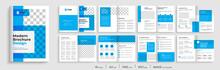 Blue Elegant Brochure Template...