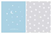 Sweet Dreams. Cute Stars Vecto...