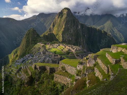 A View of the Ancient City of Machu Picchu Fototapeta
