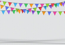 Bunting Party Decoration 3d Ha...
