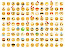 Emoticons Yellow Set. Smiling ...