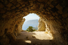 View From The Ruin Monolithos ...