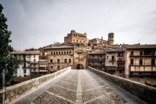 Obraz na płótnie Valderrobres, Teruel, Aragon, España
